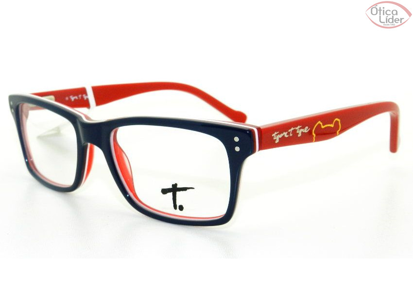 Tigor T. Tigre TT 050 c4 48 Infantil Acetato Azul / Vermelho