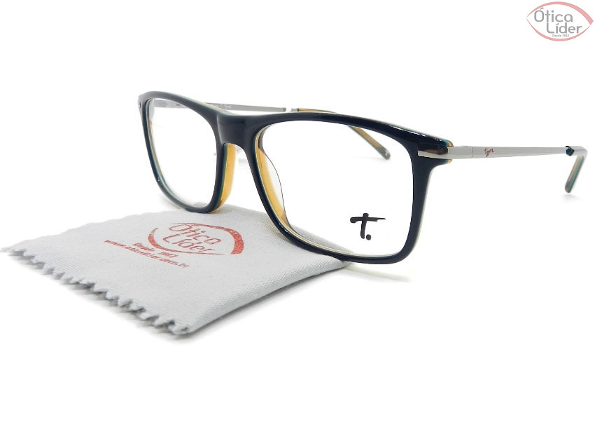 Tigor T. Tigre VTT101 c.01 49 Infantil Acetato Azul Marinho / Metal Prata