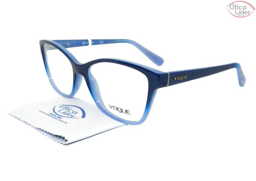 Vogue VO 2998 2346 54 Acetato Azul - 12x sem juros ou 20% OFF na ... 81d119b15a