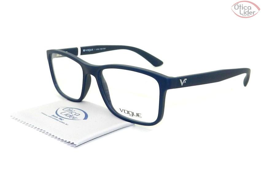e3e875cb0d109 Vogue VO 5045l 2288s 53 Acetato Azul Marinho - 12x sem juros ou 20 ...