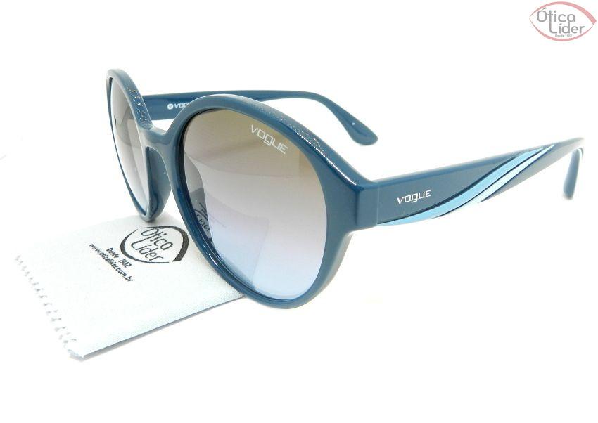 0631dd4ada45c Vogue VO5106s 246348 54 Acetato Azul - 12x sem juros ou 20% OFF na ...