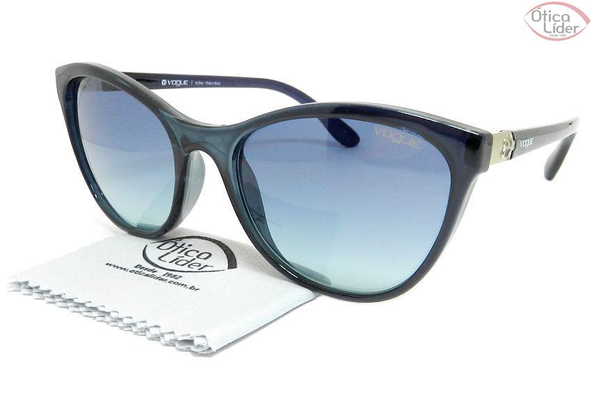 ccbc13625af4d Vogue VO5131 25164s 57 Acetato Azul Marinho - 12x sem juros ou 20 ...