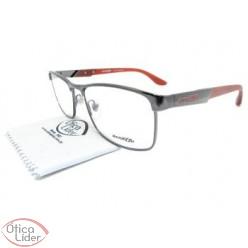 Arnette AN6111l 612 54 Metal Prata / Acetato Vermelho