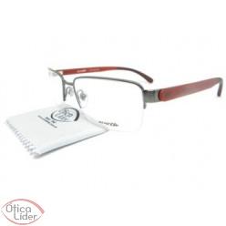Arnette AN6117l 639 55 fny Metal Chumbo / Acetato Vermelho