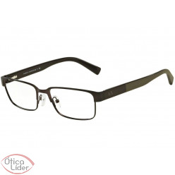 Armani Exchange AX1017L 6063 54 Metal Preto / Haste Acetato Marrom