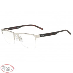 Armani Exchange AX1026L 6020 54 fny Metal Prata / Haste Acetato Mesclado