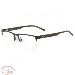 Armani Exchange AX1026L 6063 54 fny Metal Preto / Haste Acetato Mesclado