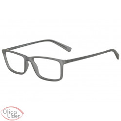 Armani Exchange AX3027L 8232 55 Acetato Cinza Transparente / Haste Metal