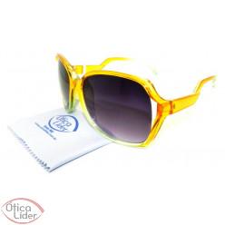 Batali BA 7306k 53 Infantil Acetato Amarelo / Verde Transparente