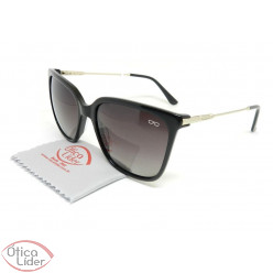 Difaty DF880241 c1 56 Polarizado Acetato Preto / Metal Light Gold