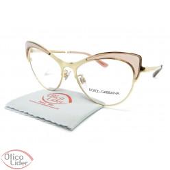 Dolce & Gabbana DG1308 3148 53 Gatinho Metal Dourado/Rosa