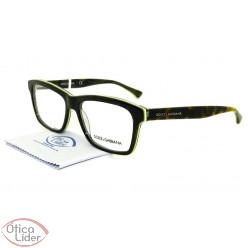 Dolce & Gabbana DG3235 2961 55 Acetato Marrom Mesclado