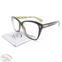 Dolce & Gabbana DG3249 2955 51 Acetato Preto / Dourado