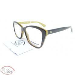Dolce & Gabbana DG3249 2956 53 Acetato Demi / Dourado