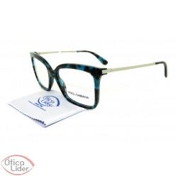 Dolce & Gabbana DG3261 2887 53 Acetato Verde Mesclado / Prata