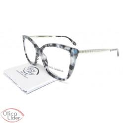 Dolce & Gabbana DG3280 3132 54 Acetato Mesclado / Metal Prata