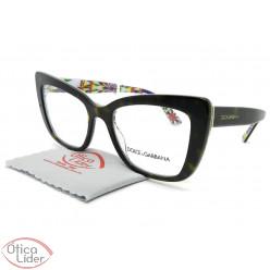 Dolce & Gabbana DG3308 3217 51 Acetato Havana / Decorado