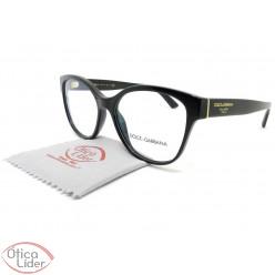 Dolce & Gabbana DG3322 501 54 Acetato Preto