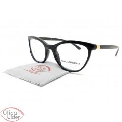 Dolce & Gabbana DG3324 501 52 Acetato Preto