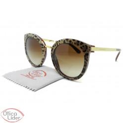 Dolce & Gabbana DG4268 3155/13 52 Acetato Bordô / Leopardo