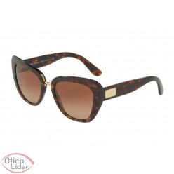 Dolce & Gabbana DG4296 502/13 53 Acetato Demi / Metal Dourado