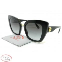 Dolce & Gabbana DG4359 501/8g 52 Acetato Preto com Dourado