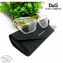 Dolce & Gabbana DG5025 3133 53 Acetato Cristal / Metal Dourado