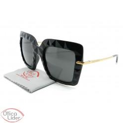 Dolce & Gabbana DG6111 501/87 51 Acetato Preto / Dourado