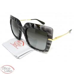 Dolce & Gabbana DG6111 504/8g 51 Acetato Preto Transparente / Dourado