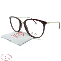 Grazi Massafera GZ3052 g079 50 Acetato Bordô / Light Gold