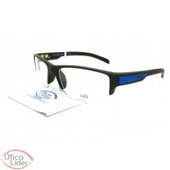 HB93019001 54 fny Polytech Preto / Azul
