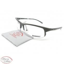 Óculos de Grau Keeper KE3001 M.D. Gun 56 fny Cesar Cielo Aluminium Grafite