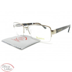 London LO2955 col TB 55 fny Metal Rosado / Acetato Mesclado