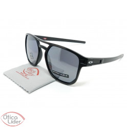 Oakley OO9436 0554 54 Latch Beta Preto Semi-Espelhado Polarizado