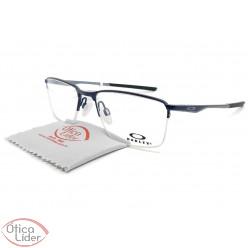 Oakley Socket 5.5 OX3218 0354 54 fny Metal Azul Marinho/Cinza