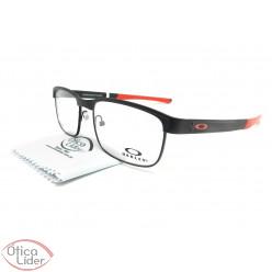 Oakley OX5132 0454 54 Surface Plate Titanium Preto / Vermelho