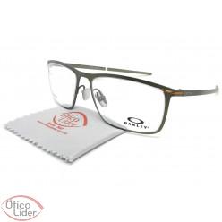Oakley Tie Bar OX5138 0255 55 Titanium Verde Oliva Chumbo