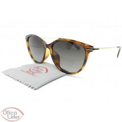 Polaroid PLD 4085/f/s 086lb 54 Acetato Havana/Metal Dourado Polarizado