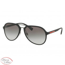 4574e37ca410a Prada PS 05rs dg0 0a7 58 Acetato Preto Fosco