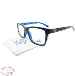 Ray-Ban RY1536 3600 48 Infantil Acetato Azul Marinho / Verde
