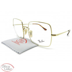 Ray-Ban RX1971v 2500 54 Square Metal Dourado