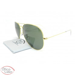 Ray-Ban RB3026l l2846 62 Aviador Metal Dourado