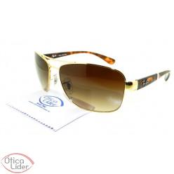 Óculos de Sol Ray-Ban RB3518l 001/13 63 Dourado / Mesclado
