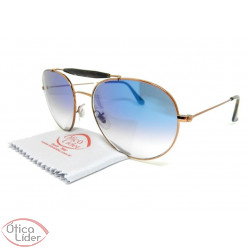 Ray-Ban RB3540l 90353f 56 Caçador Metal Cobre / Acetato Mesclado