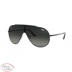 Ray-Ban RB3597 002/11 33 Wings Máscara Metal Preto