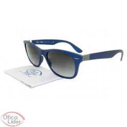 Ray-Ban RB4207 6015/8g 55 Wayfarer Acetato Azul