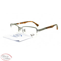 Ray-Ban RX6278l 2772 52 Metal Prata / Mesclado