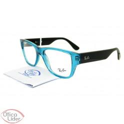 Ray-Ban RX7028 5395 53 Acetato Azul / Preto