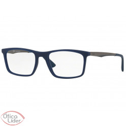 Ray-Ban RX7134l 5828 53 Acetato Azul / Metal Grafite