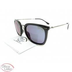 Secret SE 9663600287 51 Patti Acetato Preto / Metal Grafite